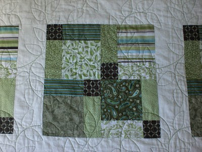 Sliced Nine-Patch Quilt
