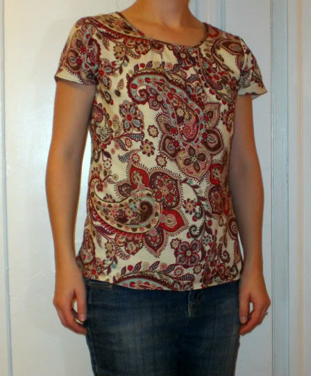 New Look 6895 ~ Easy Woven Blouse