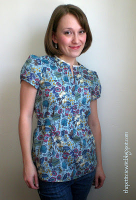 Simplicity 2365 ~ Floral Tunic