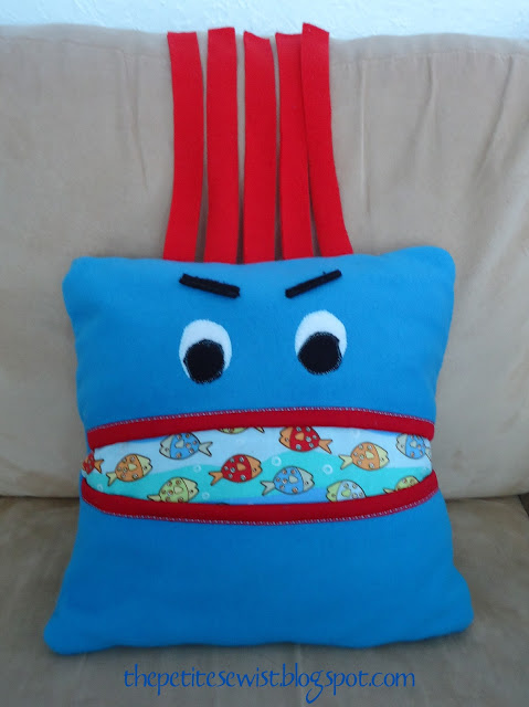 Pillow Creatures Part 2 – Mashi the Monster
