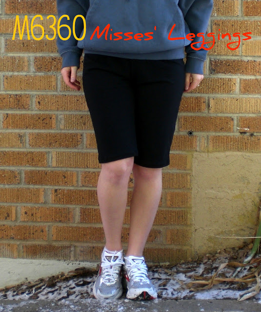 M6360 – Misses' Leggings