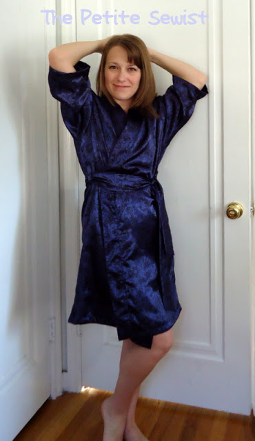 A Review: OOP Butterick 5017 Wrap Robe