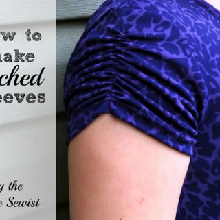 How to Make Ruched Sleeves