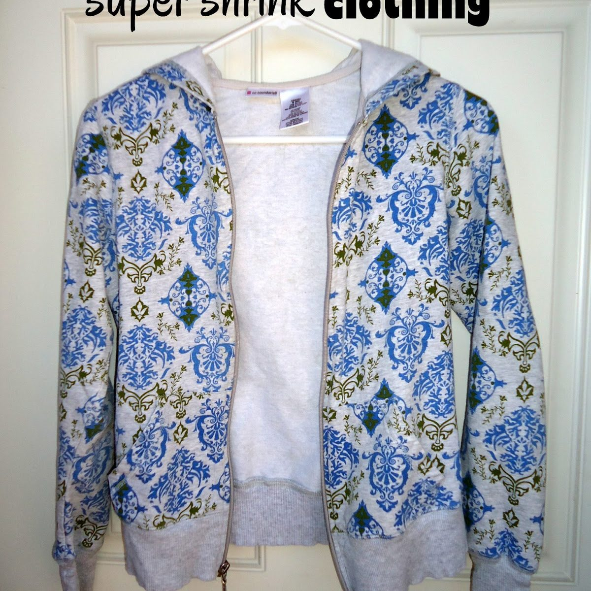 UPDATE: APRIL FOOLS!!!  How To Super-Shrink Clothing
