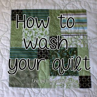 How to Wash Your Quilt