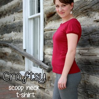 Craftsy Sewing With Knits: Scoop Neck T-Shirt