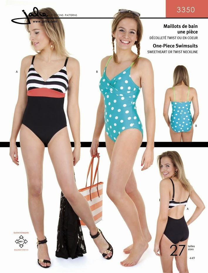 FINALLY, a cute swimsuit pattern I can wear!!!