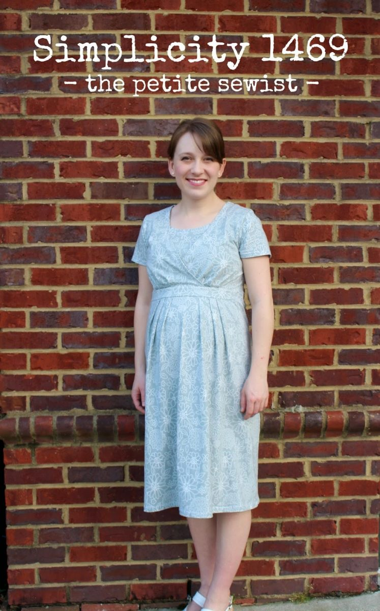 maternity nursing dress sewing pattern