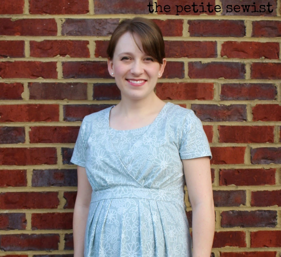 maternity nursing dress sewing pattern review