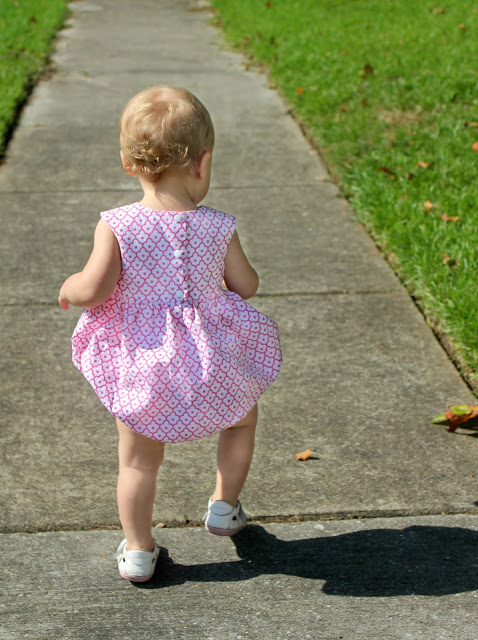 The Playgroup Romper ~ by Fresh Stitch Patterns