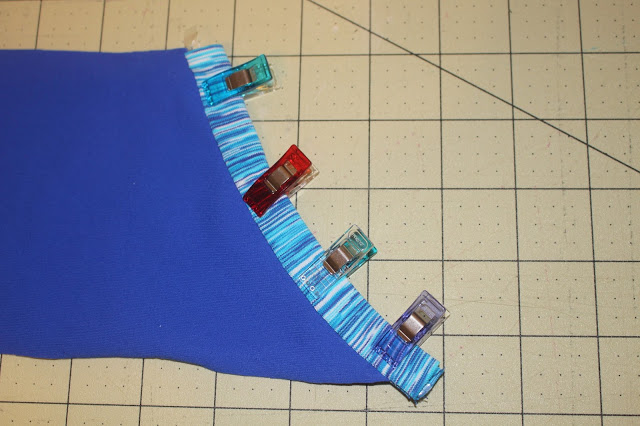 How to draft a cell phone pocket for leggings