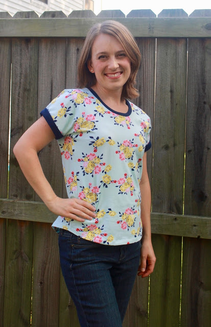Sweet Tee by Patterns for Pirates