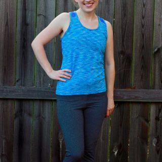 Kwik Sew 4181 ~ Supplex Workout Top