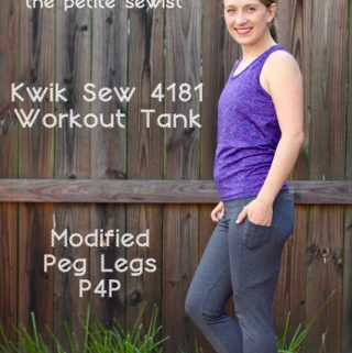 Kwik Sew 4181 & Peg Legs by Patterns for Pirates