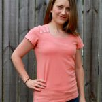 Tonic Tee in Cotton/Lycra Knit