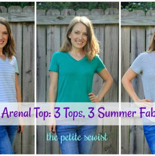 The Arenal Top: 3 Tops, 3 Summer Fabrics