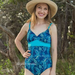 Jalie 3350 Swimsuit Pattern Review + Swim Cups