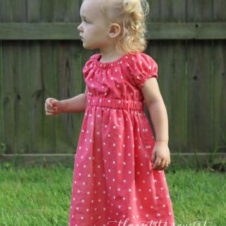 Matilda Dress by Violette Field Threads ~ Pattern Review