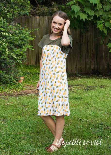 dolman dress sewing pattern