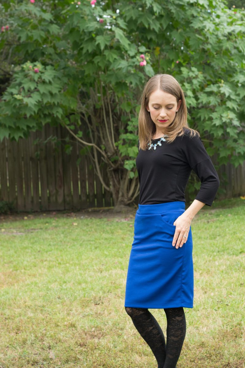 easy knit sewing patterns review - The Petite Sewist