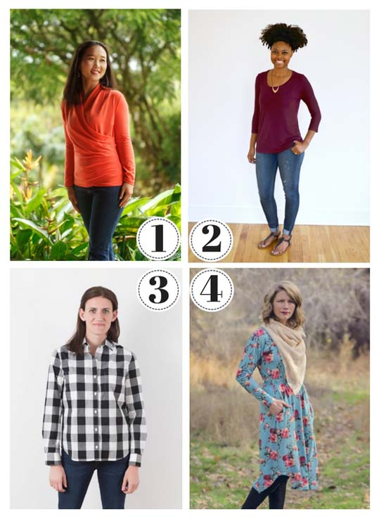 25+ Fall/Winter Sewing Patterns