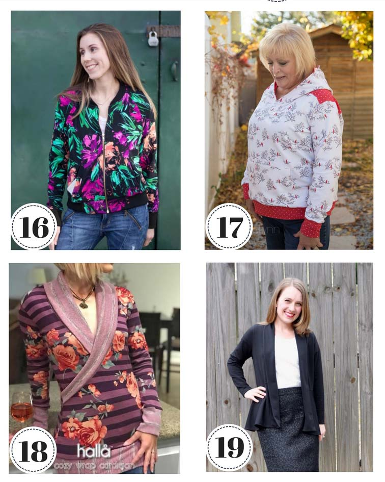 25 Fall/Winter Sewing Patterns
