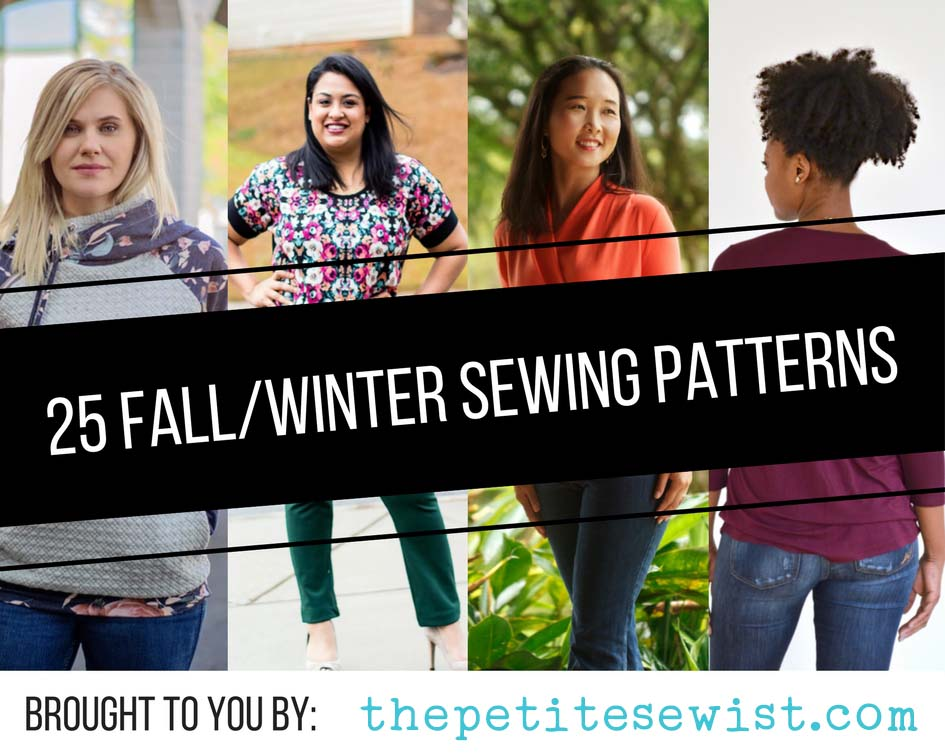25 Fall/Winter Sewing Patterns for Women 2017