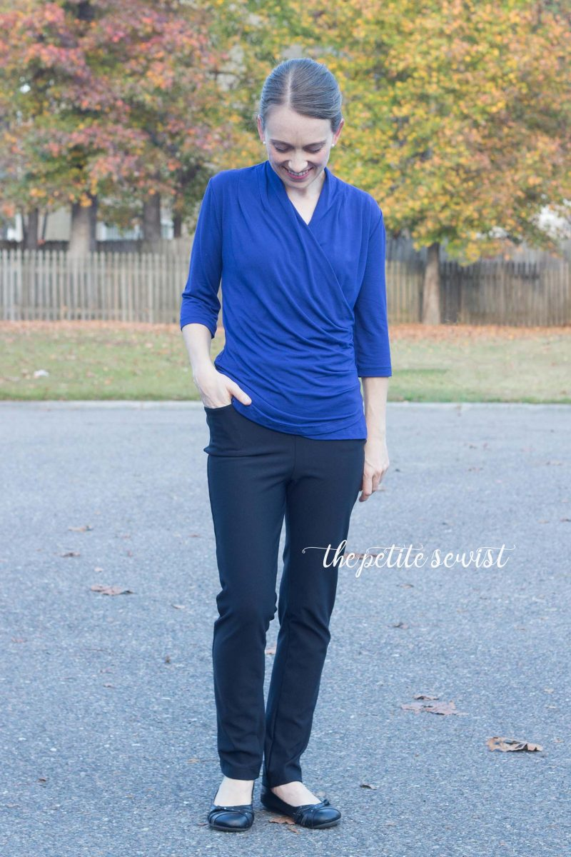Sabrina Slims Pattern Review by the Petite Sewist thepetitesewist.com