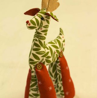 Softie Reindeer Christmas Craft: With Project Tips