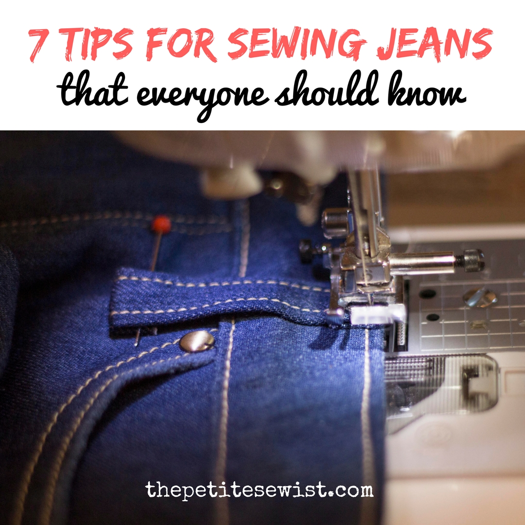 7 Tips for Sewing Jeans That Everyone Should Know