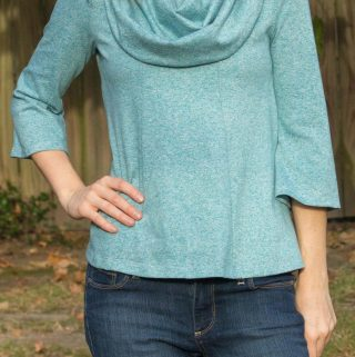 Bellavista Top by Itch to Stitch: Pattern Test