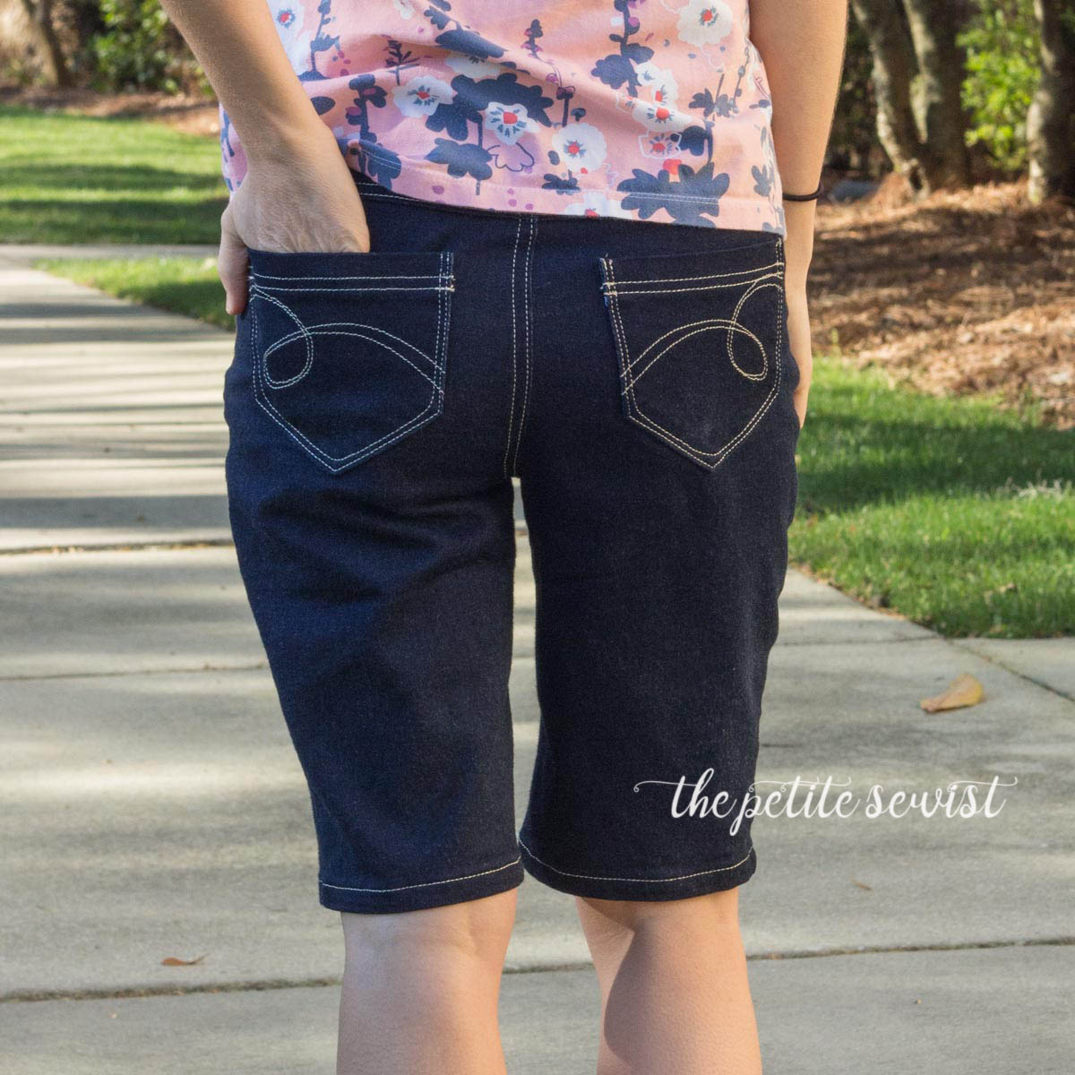 Liana Jeans Shorts - made by thepetitesewist.com