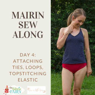 Womens' Mairin Sew Along: Day 4