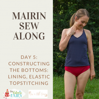 Womens' Mairin Sew Along: Day 5