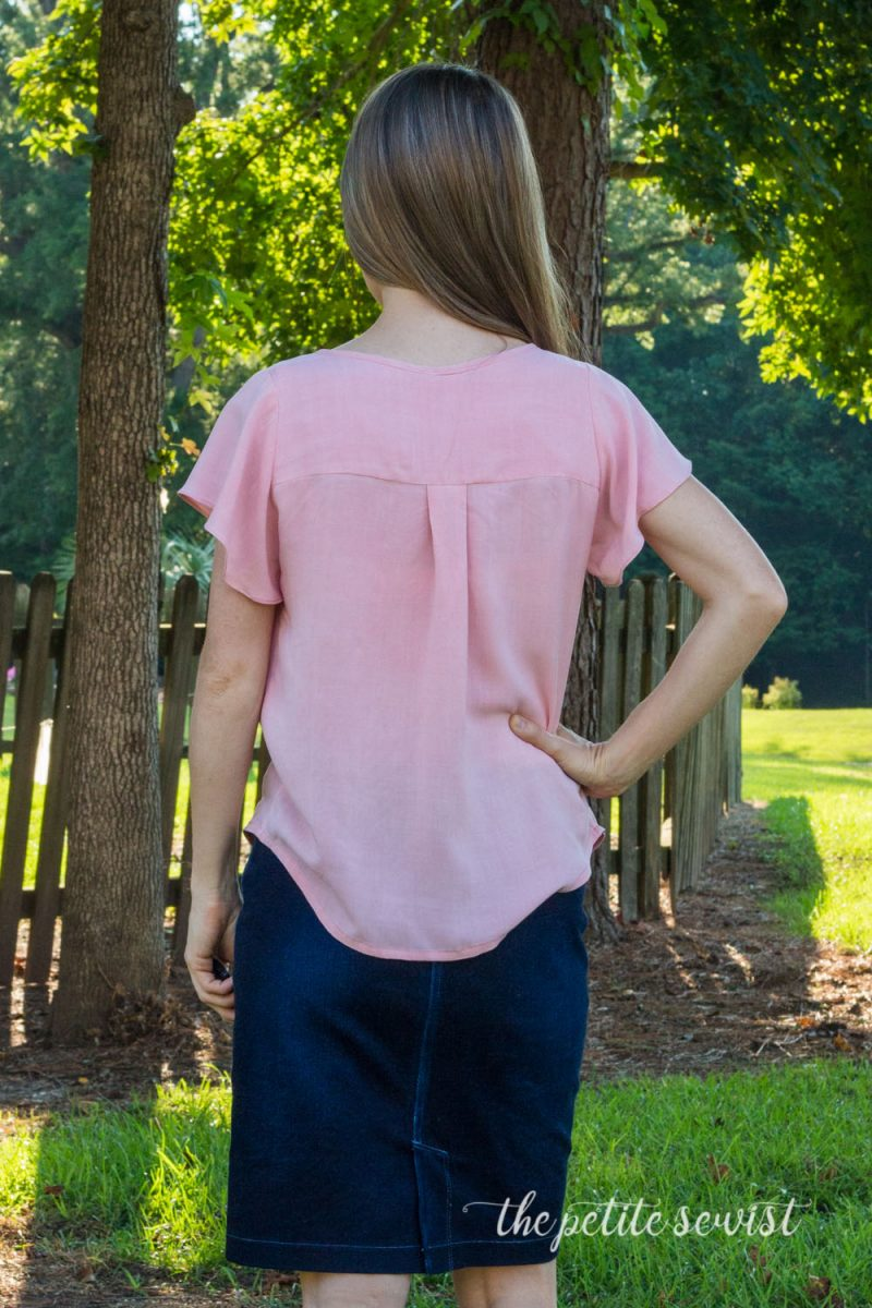 Rhapsody Pattern Review by thepetitesewist.com, lightweight summer shirt blouse patterns, bohemian style blouse