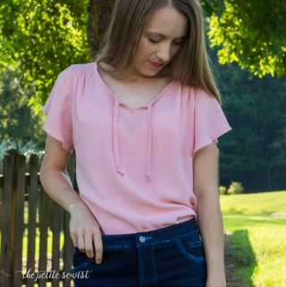 Rhapsody Blouse in Rayon Challis